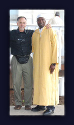 Rabbi Aryeh Hirschfield and Imam Mamadou Toure