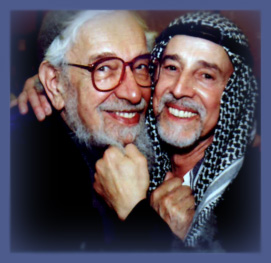 Rabbi Zalman and Rabbi Aryeh